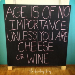 Age is of no importance
