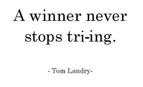 keep triing